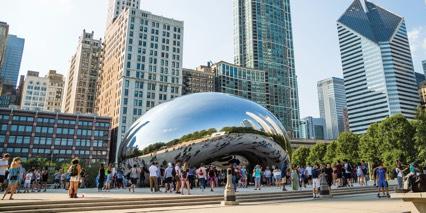 Chicago Advertising bowl icon