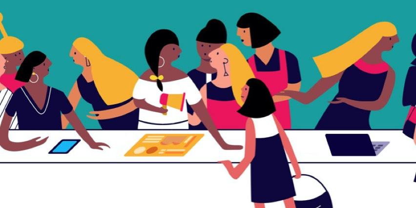 Women In Marketing  bowl icon