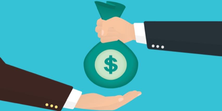 Compensation, Salary and Bonus bowl icon