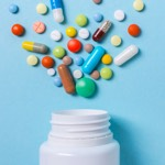 Pharma and Health Advertising bowl icon