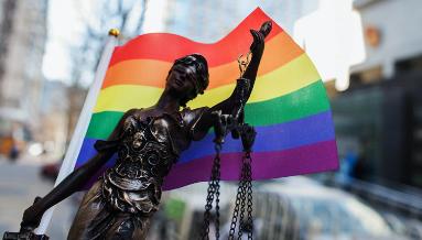 LGBTQ+ Lawyers bowl icon