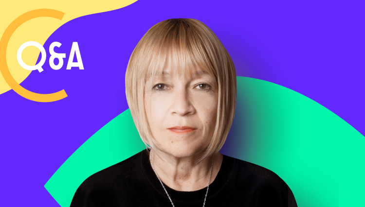 Q&A with Cindy Gallop bowl icon