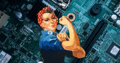 Women in Tech bowl icon